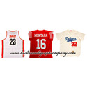 2017 HISTORIC AUTOGRAPHS INK'D THREADS AUTOGRAPHED MULTI-SPORT (BB, BKB, OR FB) JERSEYS