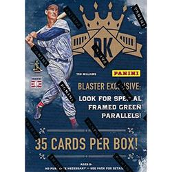 2017 Panini Diamond Kings Baseball Npp Blaster 2075