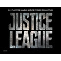 JUSTICE LEAGUE MOVIE STICKERS - 50 PACK BOX (ITEM 91089) 24/50/7