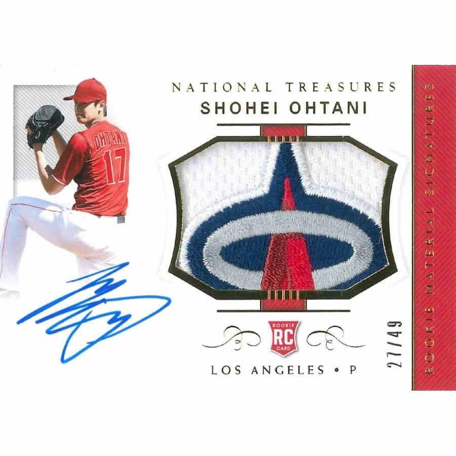 2018 Panini National Treasures Baseball Hobby 91793