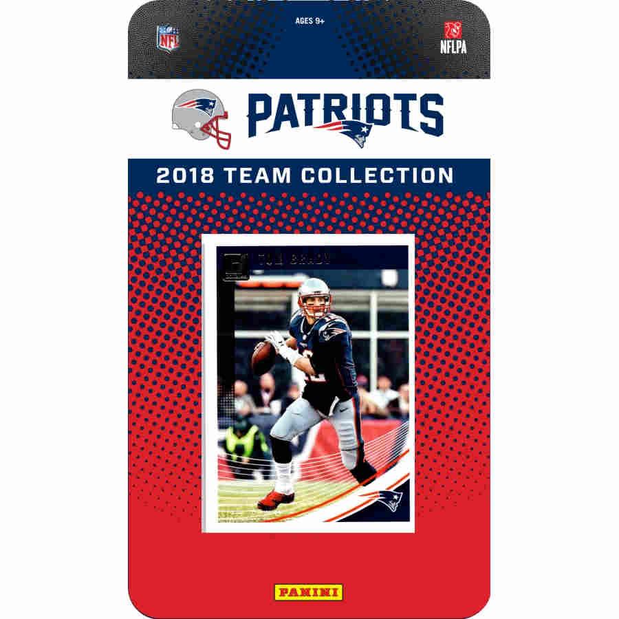 2018 PRESTIGE NFL TEAM SET - NEW ENGLAND PATRIOTS 767856e17