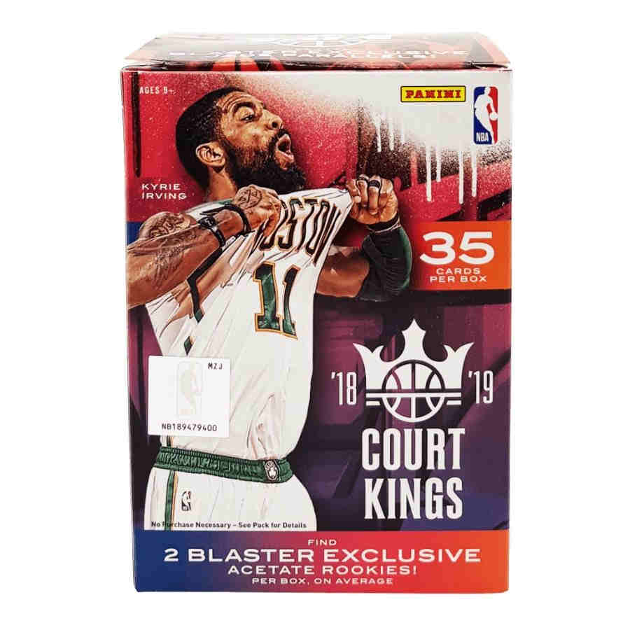 18 19 Panini Court Kings Basketball International Blaster