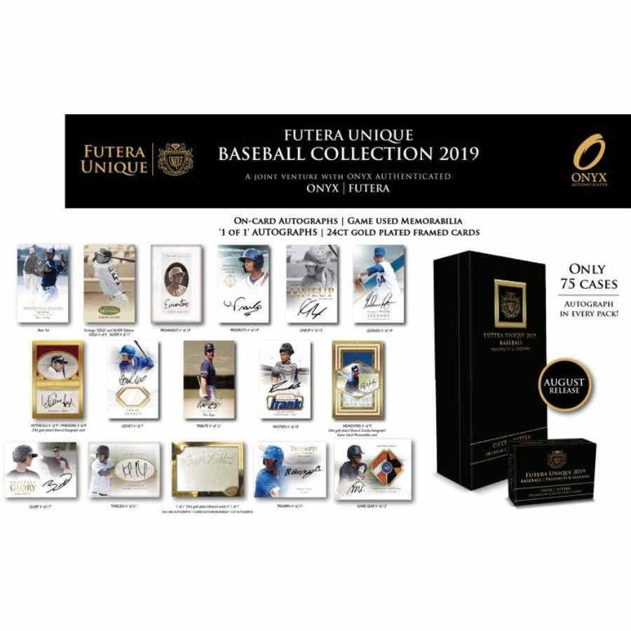 2019 Onyx Futera Prospects Legends Baseball Hobby