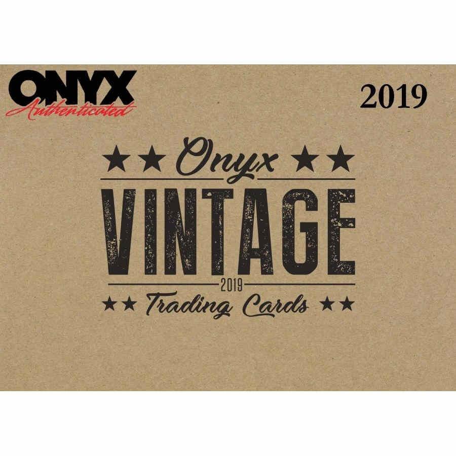 2019 Onyx Vintage Collection Baseball Tc