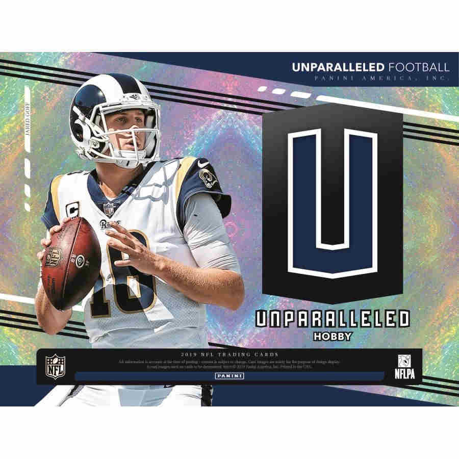 2019 Panini Unparalleled Football Hobby 94011