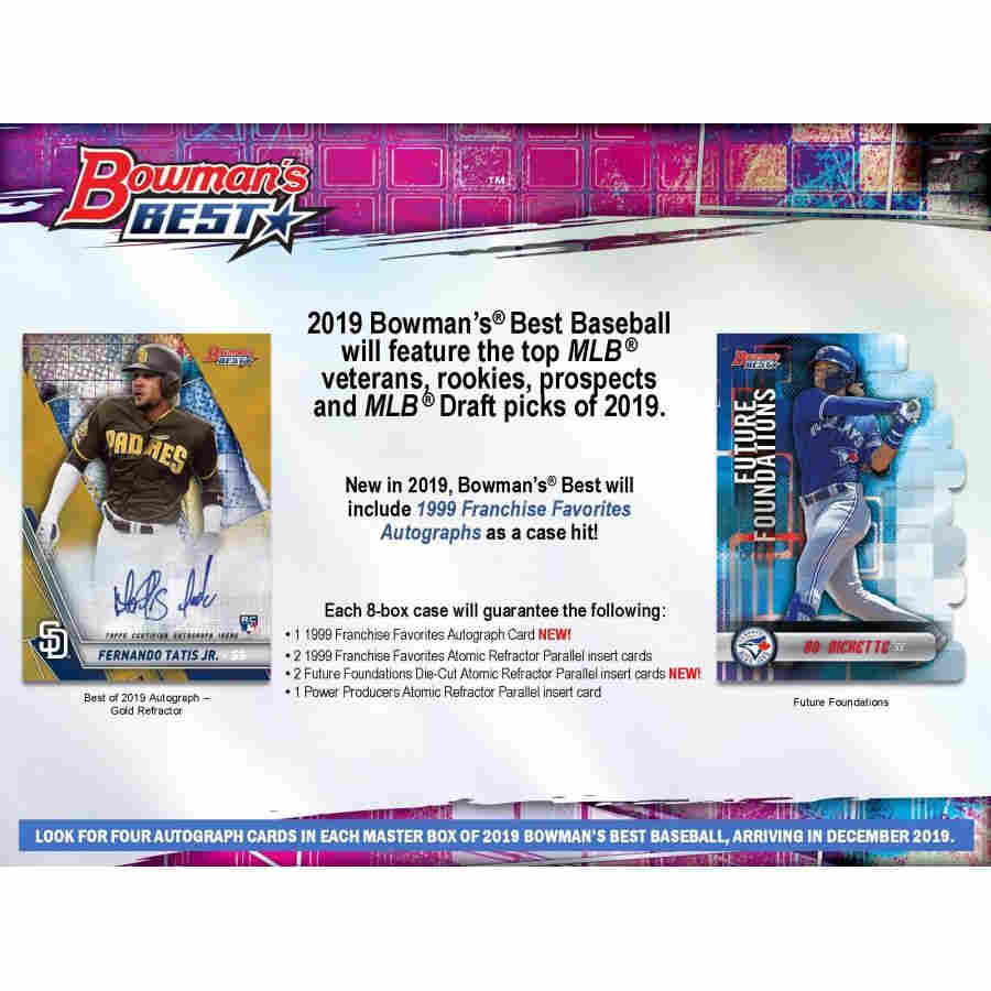 2019 Bowmans Best Baseball Hobby