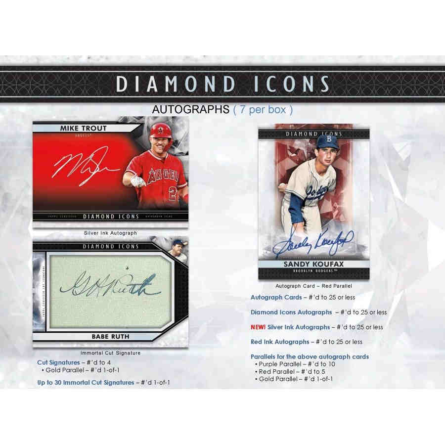 2019 Topps Diamond Icons Baseball Hobby