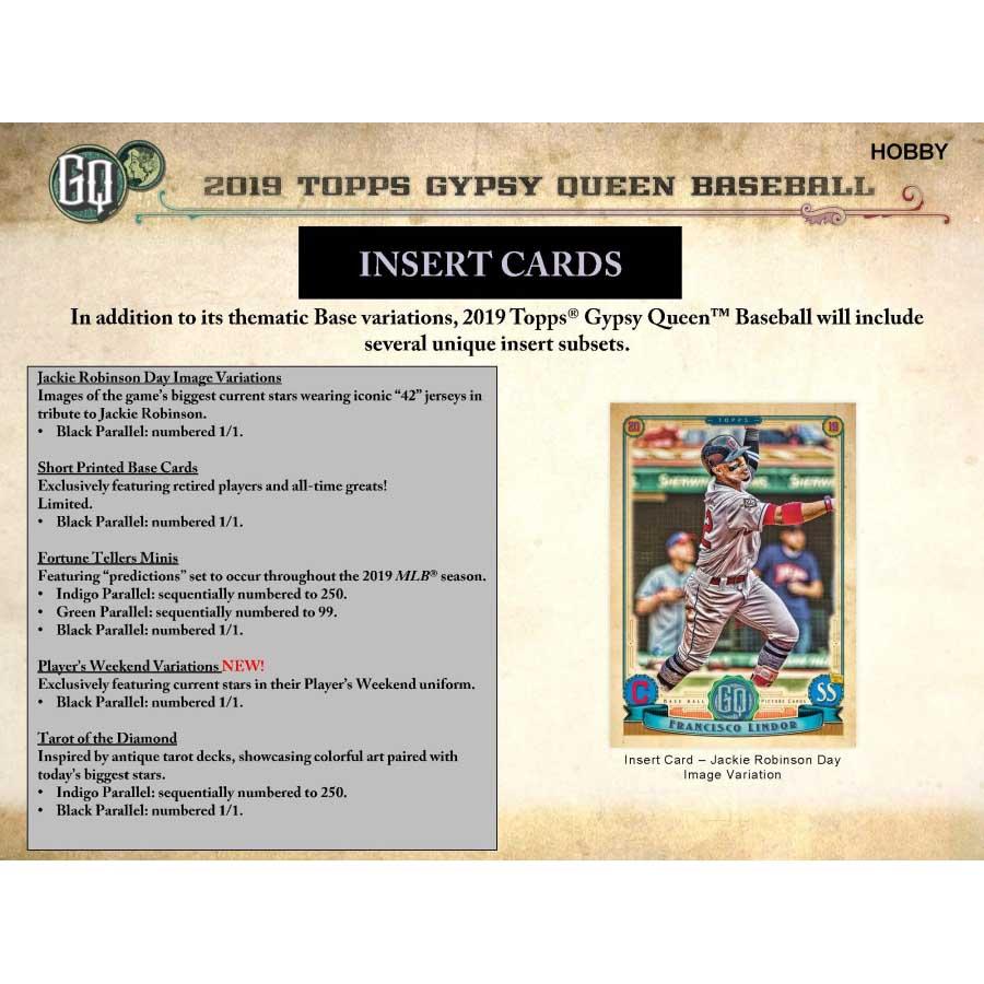 2019 Topps Gypsy Queen Baseball Hobby