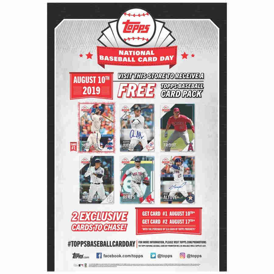 2019 Topps National Baseball Card Day Hobby