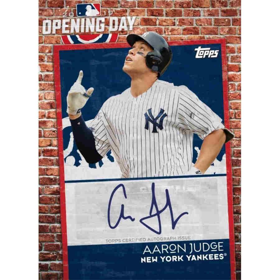 2019 Topps Opening Day Baseball Hobby