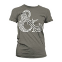 DUNGEONS & DRAGONS T-SHIRT: WOMEN - AMPERSAND