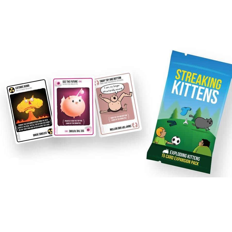 Streaking Kittens expansions Exploding Kittens