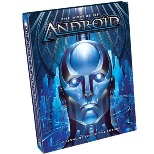 android netrunner the worlds of android hardbound book
