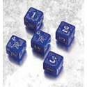 ARKHAM HORROR BLESSED DICE SET: BLUE