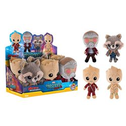 HERO PLUSHIES: GUARDIANS OF THE GALAXY VOL.2 - 6CT DISPLAY