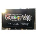 "FORCE OF WILL CCG: LC01 STICKER (PROMO) - LAPIS CLUSTER ""CURSE OF THE FROZEN CASKET"""