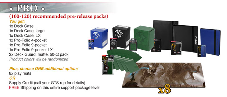 Pro Prize Package