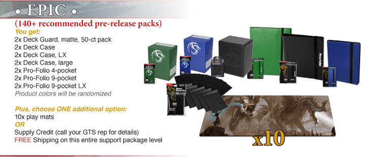 Epic Prize Package