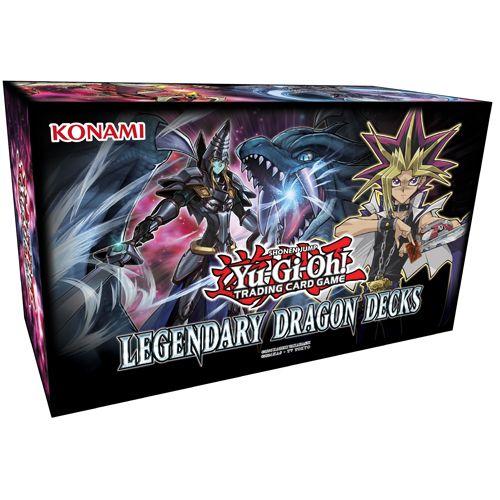 YU-GI-OH CCG: BOX SET - LEGENDARY DRAGON DECKS