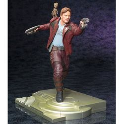 ARTFX STATUE: GUARDIANS OF THE GALAXY VOL.2: STAR-LORD WITH GROOT