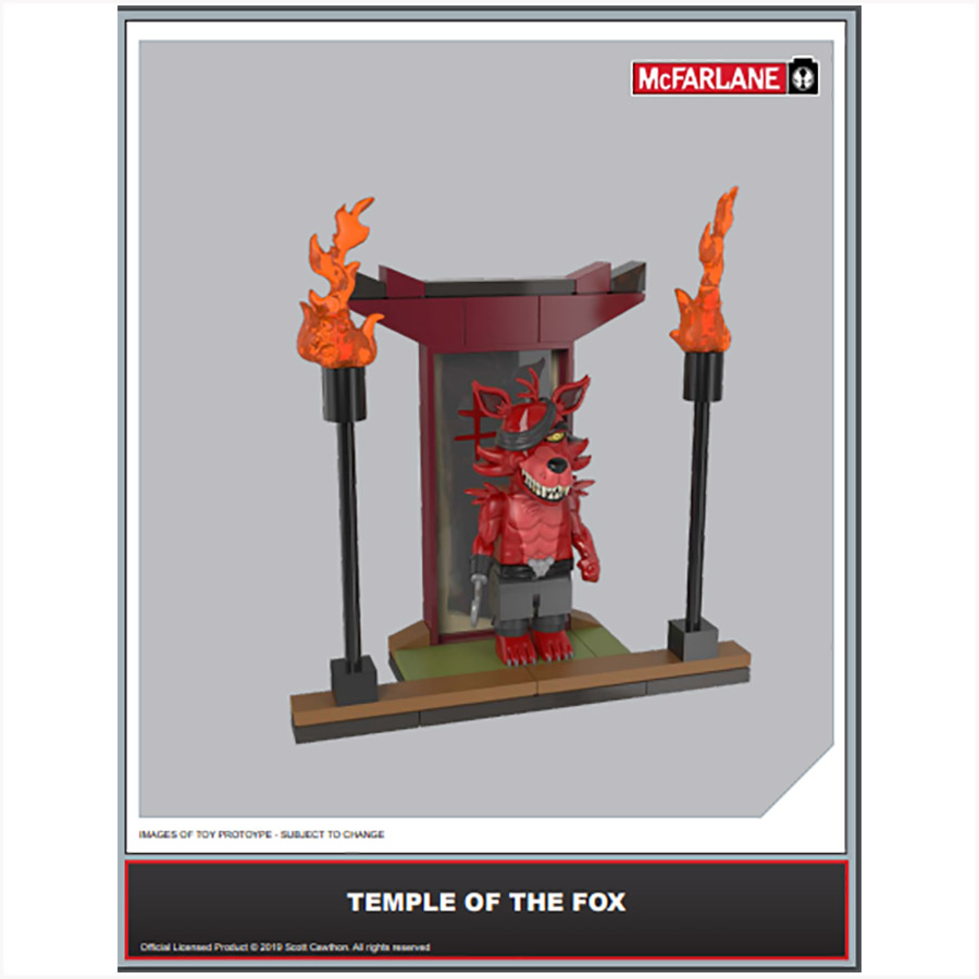 FIVE NIGHTS AT FREDDY'S:CONSTRUCTION SETS - SERIES 5 - MICRO SETS  ASSORTMENT (8CT) (25000-8)
