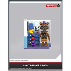 FIVE NIGHTS AT FREDDY'S:CONSTRUCTION SETS - SERIES 5 - MICRO