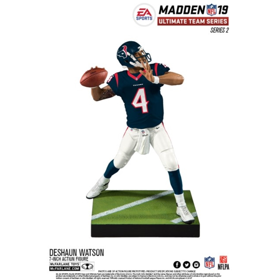 EA SPORTS   MADDEN NFL 19 ULTIMATE TEAM SERIES 2 - DESHAUN WATSON (8CT)  70033-6 2224f9923