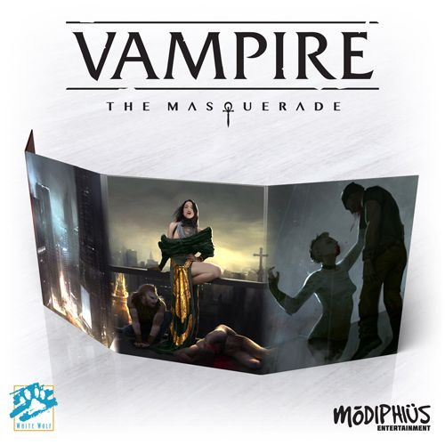VAMPIRE THE MASQUERADE 5E - STORYTELLER SCREEN