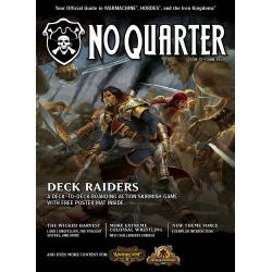 NO QUARTER MAGAZINE, ISSUE #72