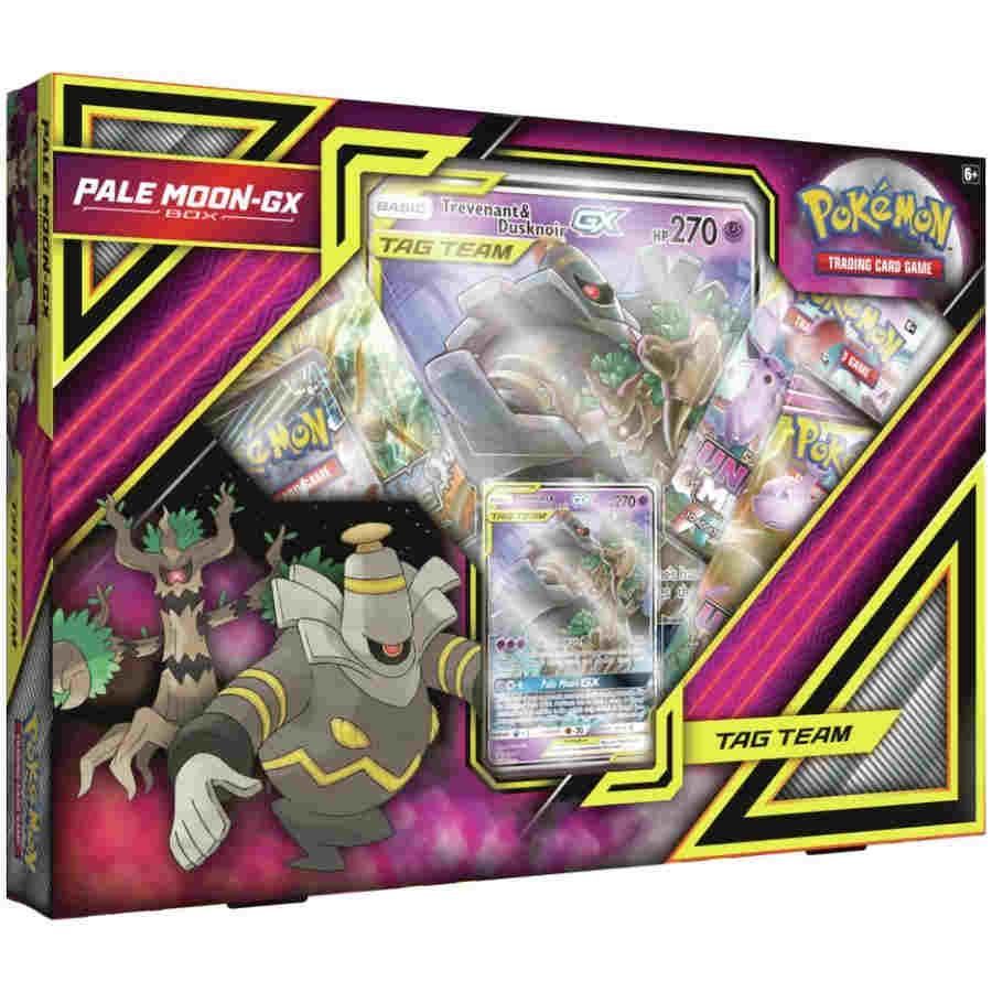 Pokemon Tcg Pale Moon Gx Box