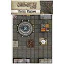 GAMEMASTERY FLIP-MAT: TOWN SQUARE