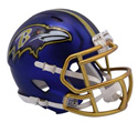 BALTIMORE RAVENS BLAZE SPEED MINI HELMET