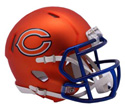 CHICAGO BEARS BLAZE SPEED MINI HELMET
