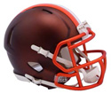 CLEVELAND BROWNS BLAZE SPEED MINI HELMET