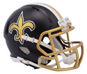 NEW ORLEANS SAINTS BLAZE SPEED MINI HELMET