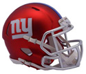 NEW YORK GIANTS BLAZE SPEED MINI HELMET