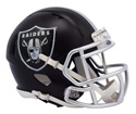 OAKLAND RAIDERS BLAZE SPEED MINI HELMET