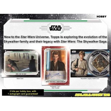 2019 Topps Star Wars Skywalker Saga Hobby
