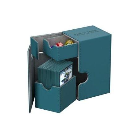 Amber Ultimate Guard UGD010774 Flip N Tray Xenoskin 100 Deck Box