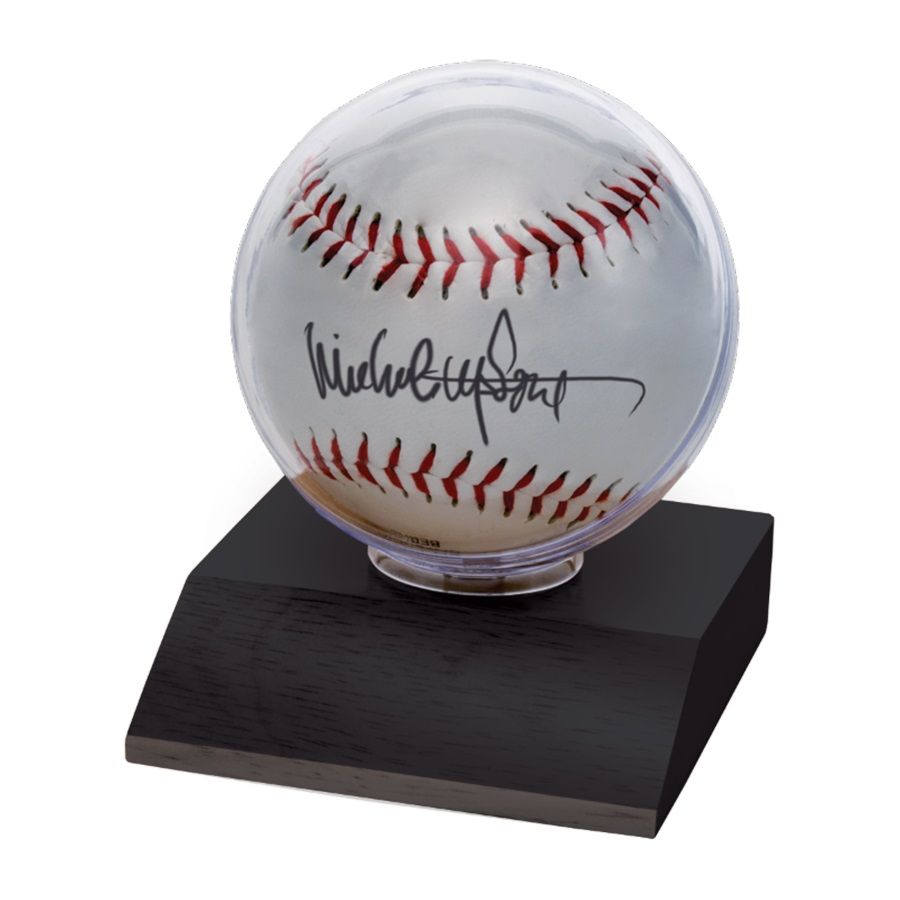 6 ct Ultra Pro Square Baseball Display with UV Protection and Built In Cradle