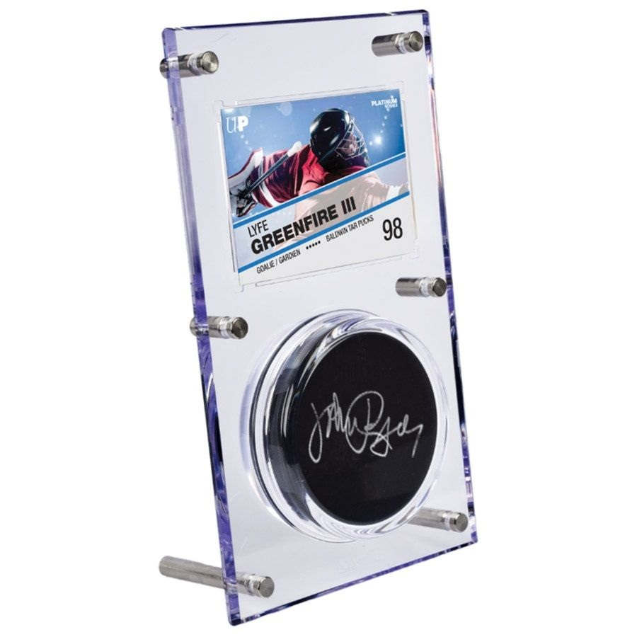 Ultra Pro Puck /& Card Acrylic Display Case