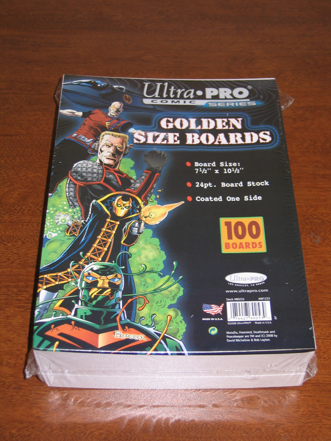 Silver Age Comic Bags and Backer Boards 100ct