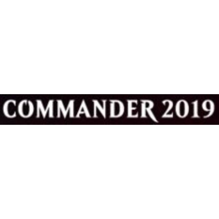 ULTRA PRO: MAGIC THE GATHERING DECK BOX - COMMANDER 2019 V2 - PRO 100+