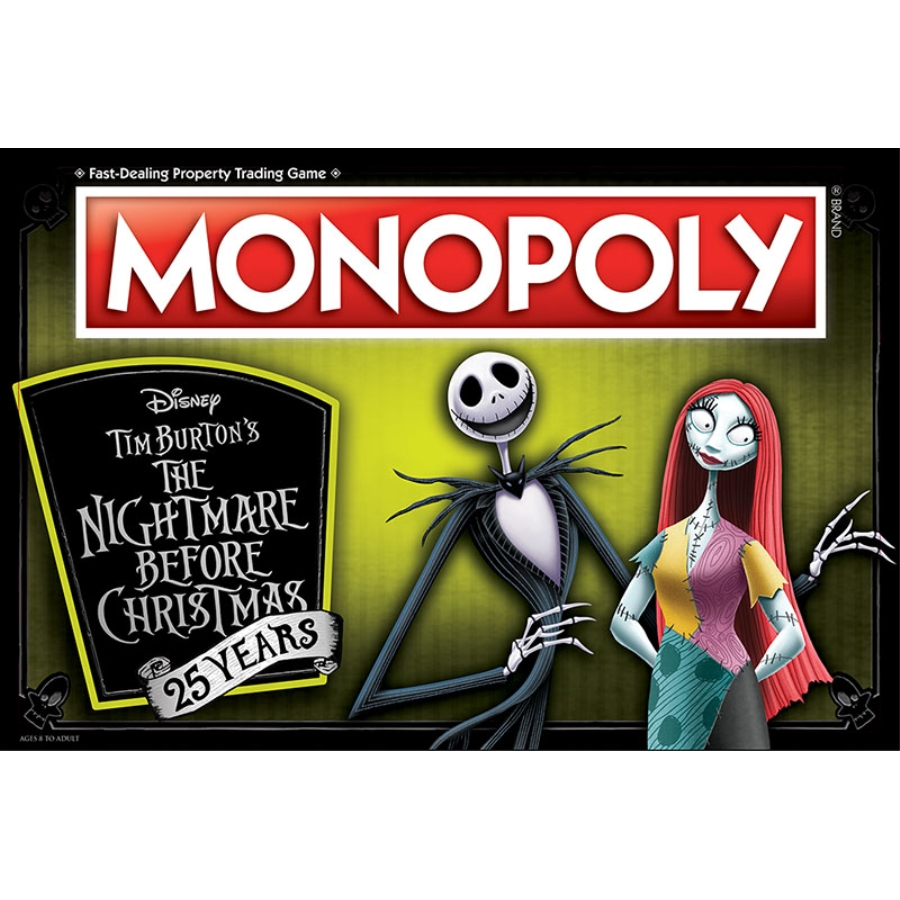 MONOPOLY®: THE NIGHTMARE BEFORE CHRISTMAS - ENTERTANIMENT