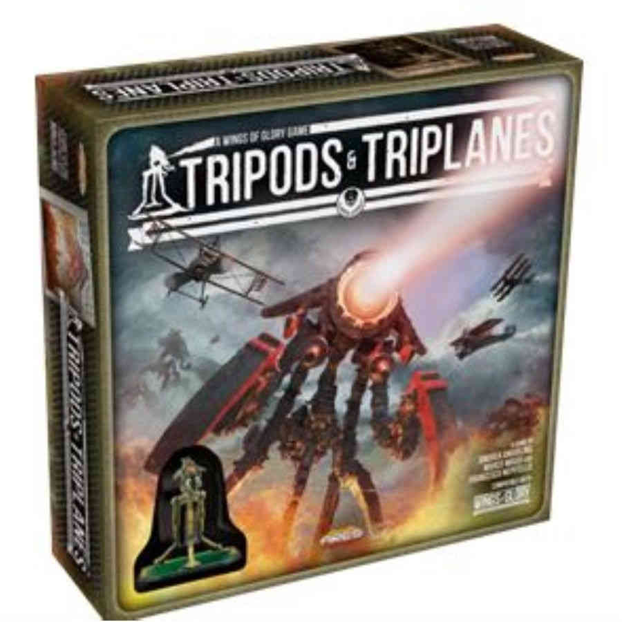 Wings of Glory - Tripods & Triplanes