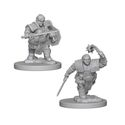 DUNGEONS AND DRAGONS: NOLZUR'S MARVELOUS UNPAINTED MINIATURES - DWARF FEMALE FIGHTER