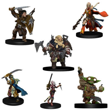 PATHFINDER BATTLES MINIATURES: ICONIC HEROES EVOLVED